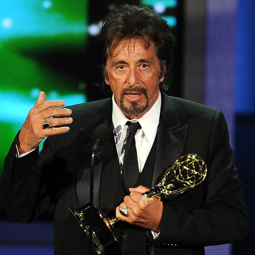 Al Pacino ze swoją statuetką /AFP