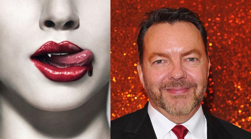 """Alan Ball i słynne, wampirze usta z """"Czystej krwi"""" /Alberto E. Rodriguez /Getty Images /materiały prasowe"""