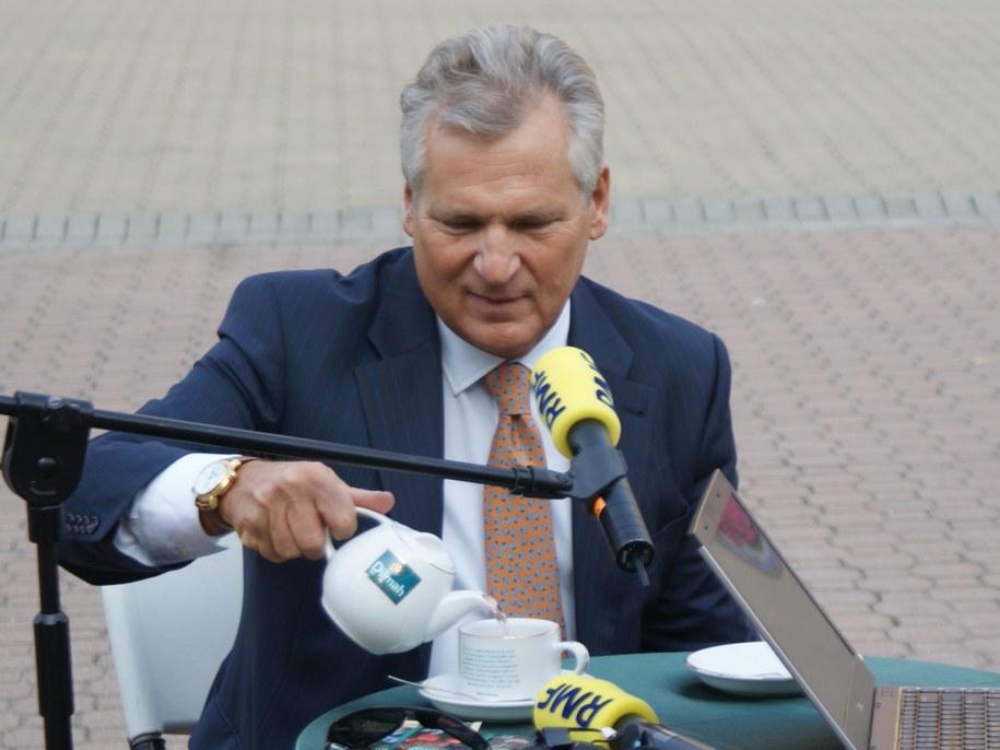 Aleksander Kwaśniewski /Jacek Skóra /RMF FM
