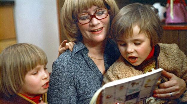 Alina Janowska z dziećmi /Polfilm /East News