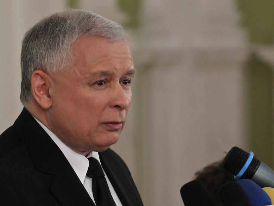 /Jarosław Kaczyński /PAP