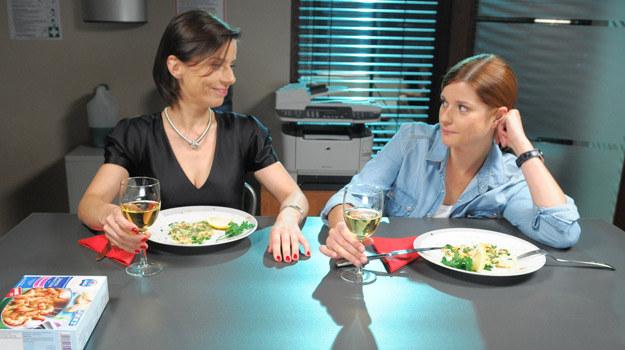 Aneta (Agata Kulesza) i Natalia (Marta Ścisłowicz) /Agencja W. Impact
