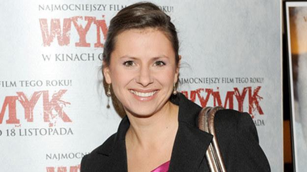"""Anna Kerth na premierze filmu """"Wymyk"""" /Agencja W. Impact"""