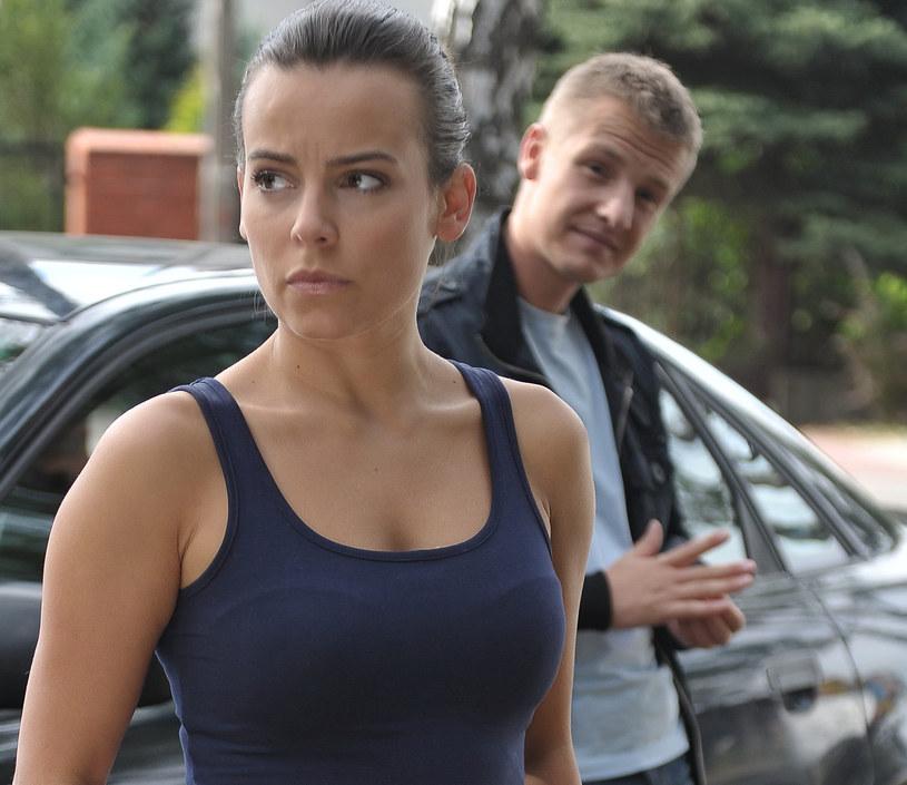 """Anna Mucha - z """"M jak miłość"""" do """"Ust ust"""" /Agencja W. Impact"""