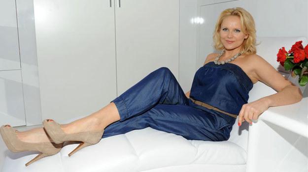 """Anna Samusionek, czyli Sylwia Nowik z """"Linii życia"""", przyznała, że nie ma obsesji na punkcie swojego ciała, ale od czasu do czasu korzysta z dobrodziejstw salonów spa, żeby po prostu poczuć się lepiej. /Agencja W. Impact"""