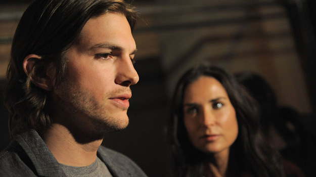 Ashton Kutcher i Demi Moore /AFP
