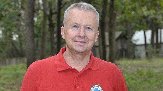 """Bogusław Linda w """"Ratownikach"""" /Gałązka /AKPA"""