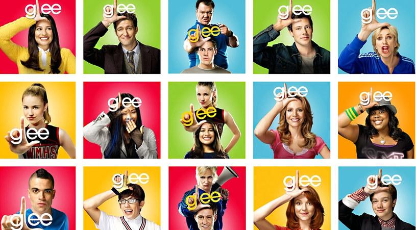 """Bohaterowie serialu """"Glee"""" /materiały prasowe"""