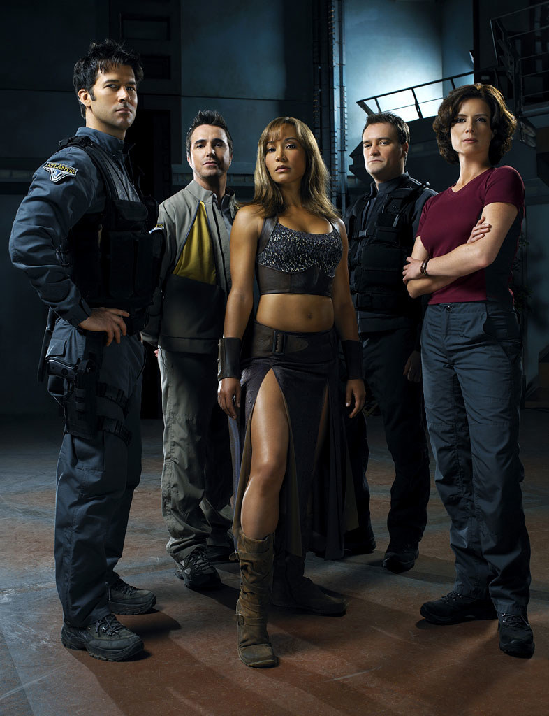 "Bohaterowie ""Stargate: Atlantis"" /materiały prasowe"