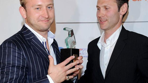 Borysz Szyc odbiera nagrodę /Agencja W. Impact