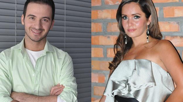 """Cezary (Stefano Terrazzino) i Wioletta (Anna Prus) zagoszczą w """"Linii życia"""" na dłużej. /Agencja W. Impact"""