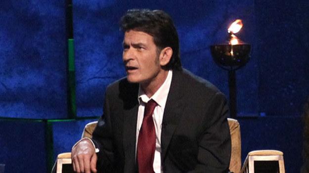 """Charlie Sheen, była gwiazda """"Dwóch i pół"""" /AFP"""