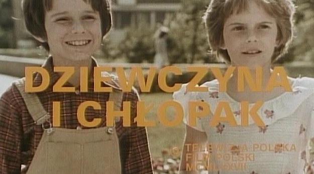 Choć w serialu grali bliźniaki, w życiu byli tylko rodzeństwem: Wojciech miał 10 a Anna 9 lat /materiały prasowe