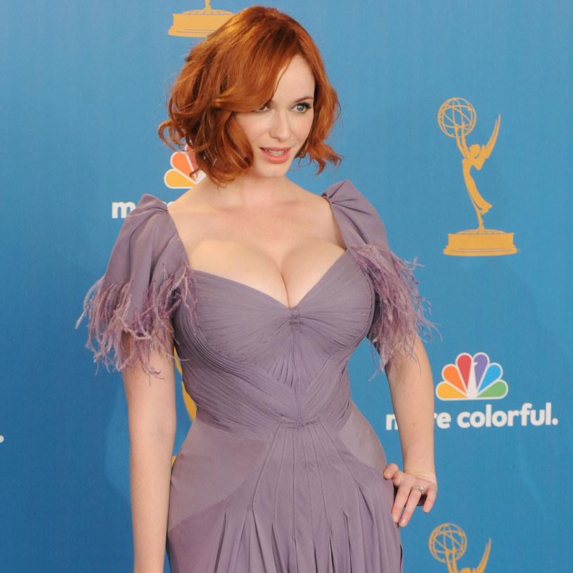 "Christina Hendricks z serialu ""Mad Men"" /Jason Merritt /Getty Images/Flash Press Media"