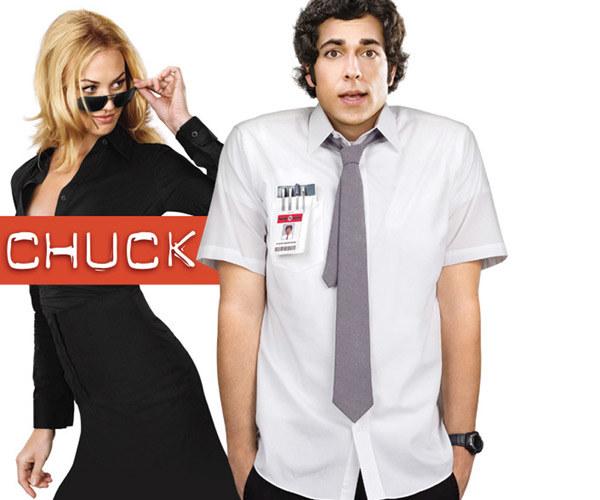 """Chuck Bartowski z seialu """"Chuck"""" /materiały prasowe"""