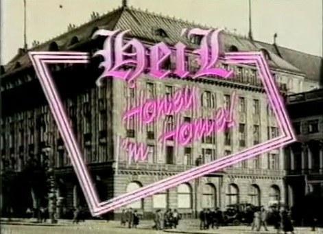"""Czołówka serialu """"Heil honey I'm home!"""". Prezentujemy ją, bo mogliście nie uwierzyć, że ten sitcom naprawdę tak się nazywał /swiatseriali.pl"""