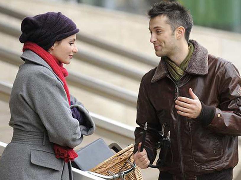 Czy Dawid (Fifip Bobek) uwiedzie Magdę (Anna Dereszowska)? /TVN