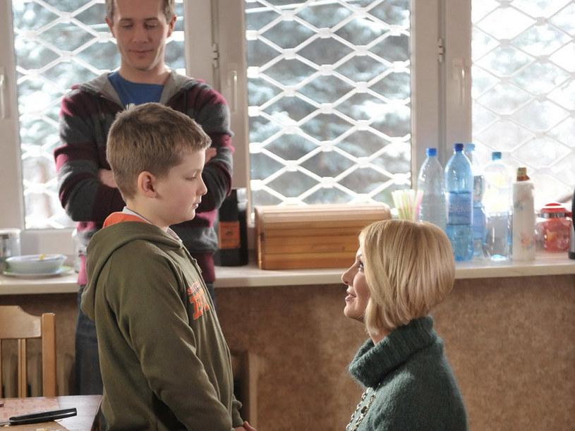 Czy Olga - według Was - jest wyrodną matką? /Agencja W. Impact