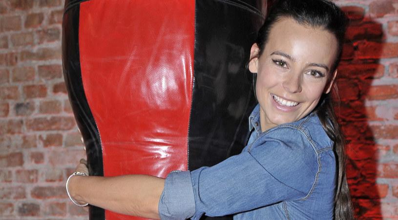 Czy widzom spodoba się Anna Mucha w nowym serialu? /AKPA