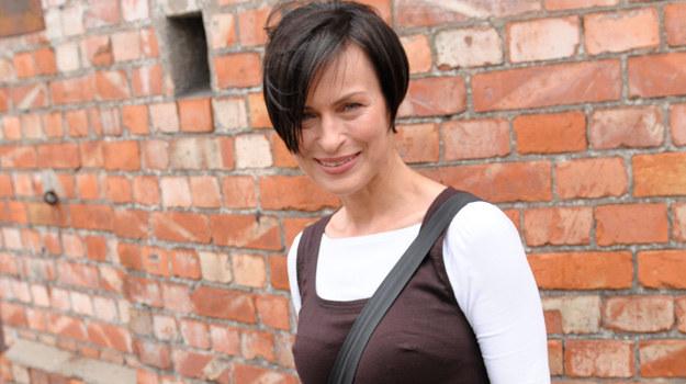 """Danuta Stenka gra w serialu """"Instynkt"""" Annę Oster /Agencja W. Impact"""