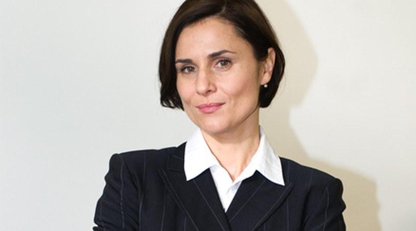 """Dorota Landowska grała także w serialu """"Kryminalni"""" /Agencja W. Impact"""