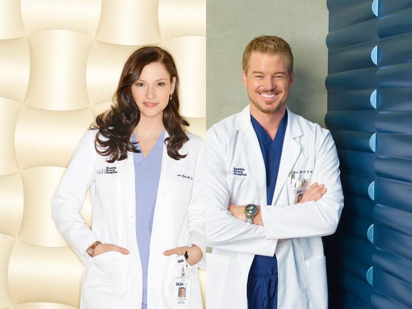 dr Marc Sloan (Eric Dane) i stażystka Lexie Grey. /© 2009 ABC INC. /materiały prasowe