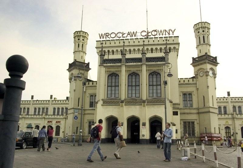 Dworzec Główny we Wrocławiu /East News