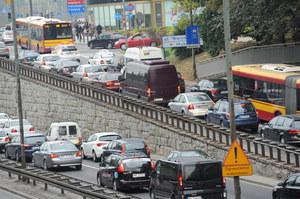 Dzień bez samochodu w Warszawie /PAP