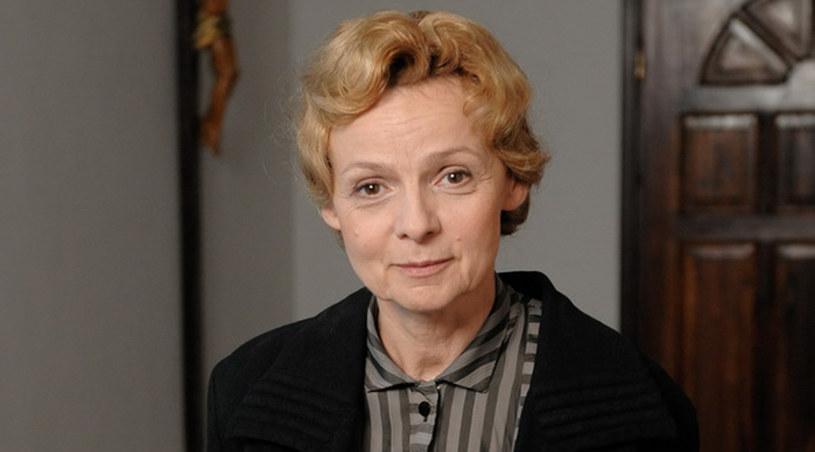 """Ewa Wencel, aktorka i współautorka """"Czasu honoru"""" /Agencja W. Impact"""