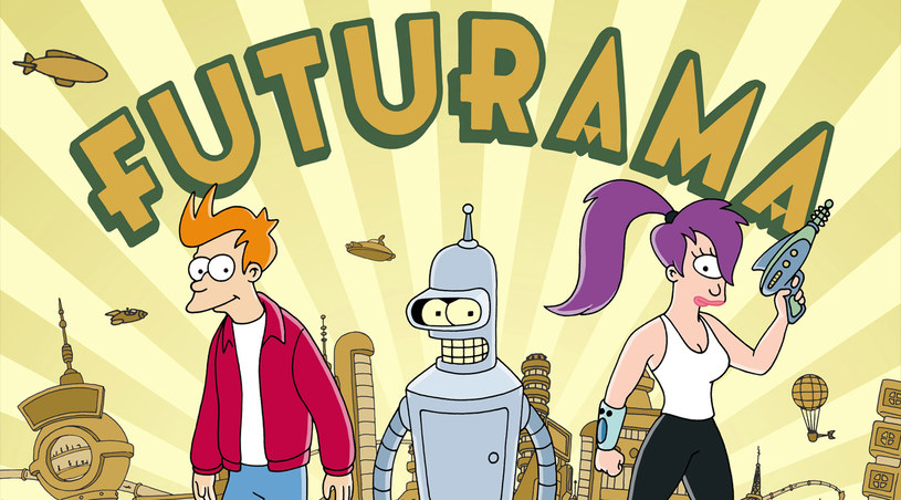 Fry, Bender i Leela /materiały prasowe