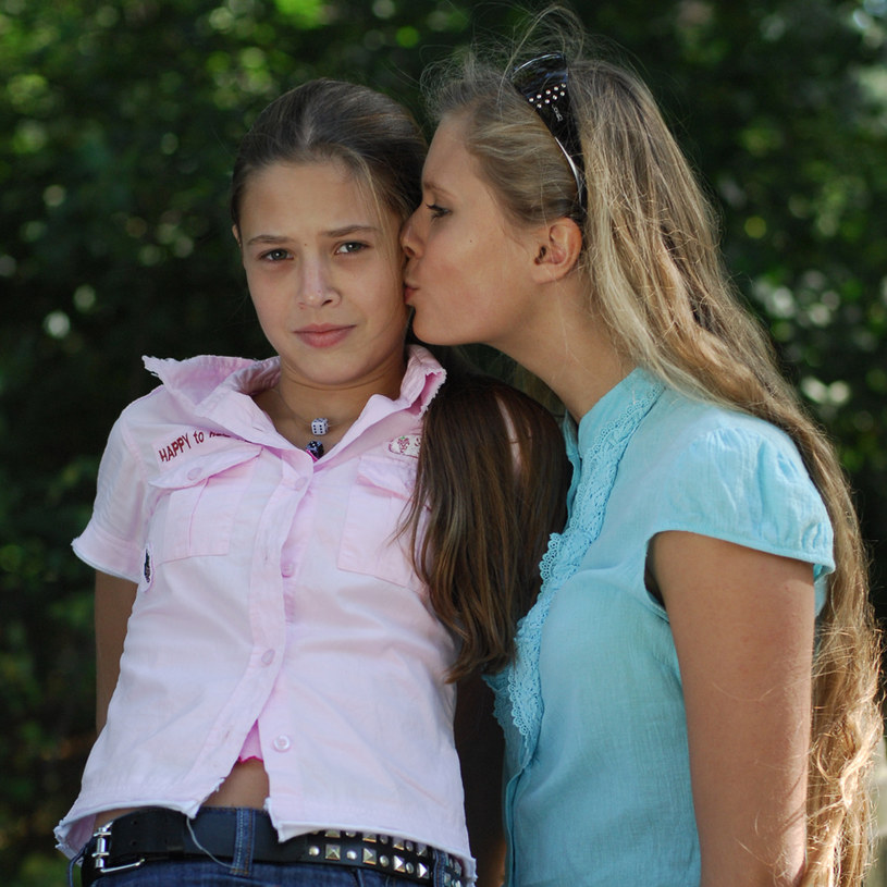 Gabriela z siostrą Julią /Agencja W. Impact