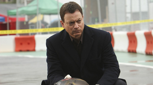 "Gary Sinise w ""CSI: NY"" /Polsat"