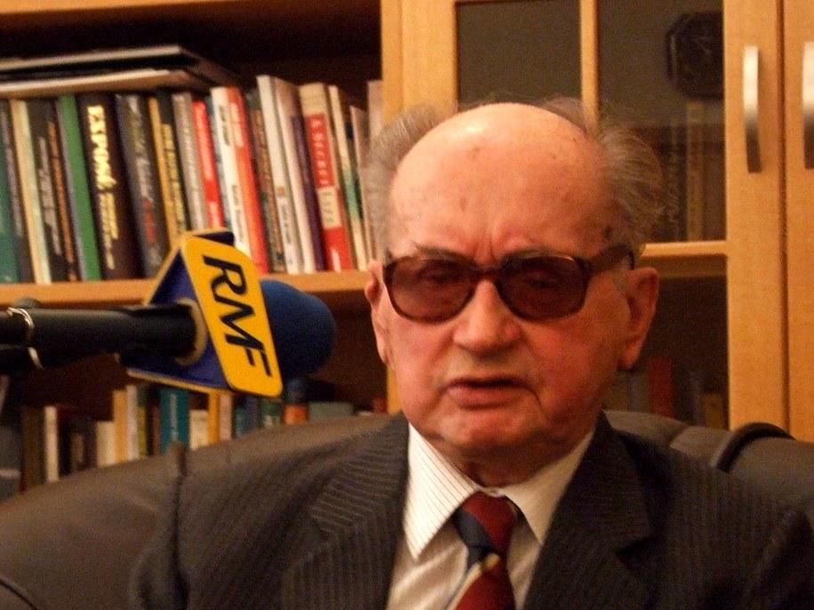 Gen. Wojciech Jaruzelski /Mikołaj Dukaczewski /RMF FM