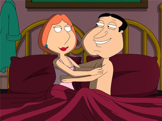 Glenn z żoną Petera w łóżku. To nie to co myślicie /FOX /materiały prasowe