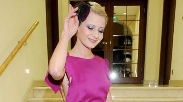 """Grająca rolę Natalii Boskiej w """"rodzince.pl"""" Małgorzata Kożuchowska ma powody do zadowolenia ze swojego nowego serialu /Agencja W. Impact"""