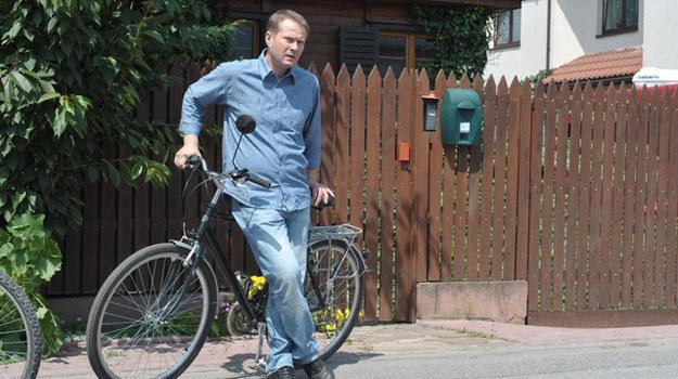 Grany przeze mnie bohater przesiądzie się z roweru na motor - zdradza Artur Żmijewski. /Agencja W. Impact