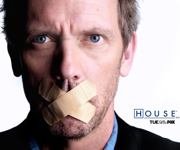 "Gregory House z serialu ""Dr House"" /materiały prasowe"