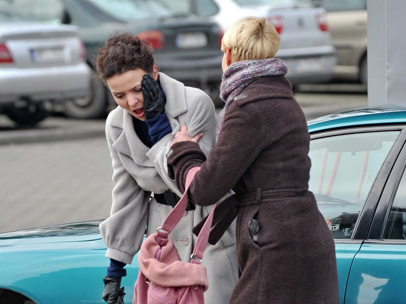 Hance (Małgorzata Kożuchowska) puszczą nerwy. /Agencja W. Impact