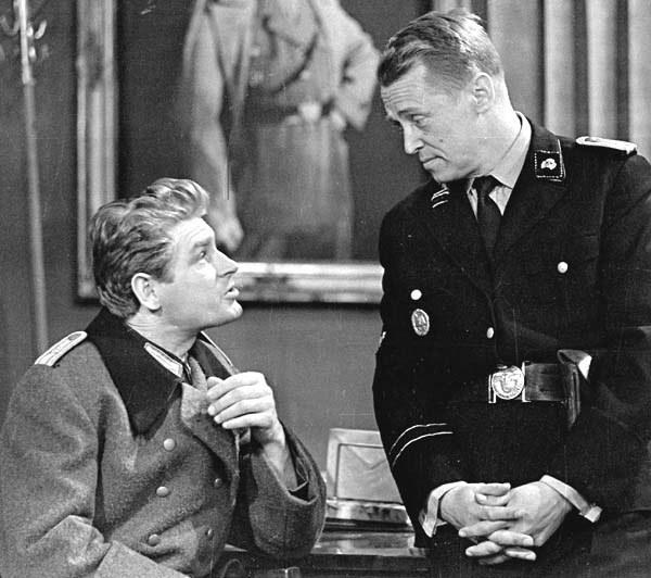 Hermann Brunner i Hans Kloss w latach 60-tych /filmpolski.pl