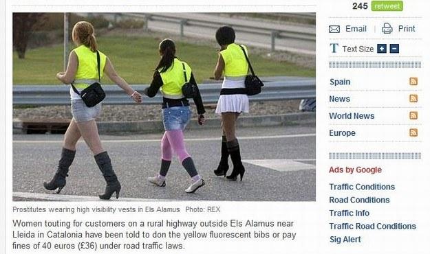 Hiszpańskie prostytutki... /
