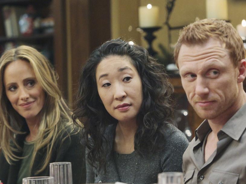 Hmm, myślicie, że chodzi o Cristinę i Owena czy może inną serialową parę? /© 2009 ABC INC. /materiały prasowe