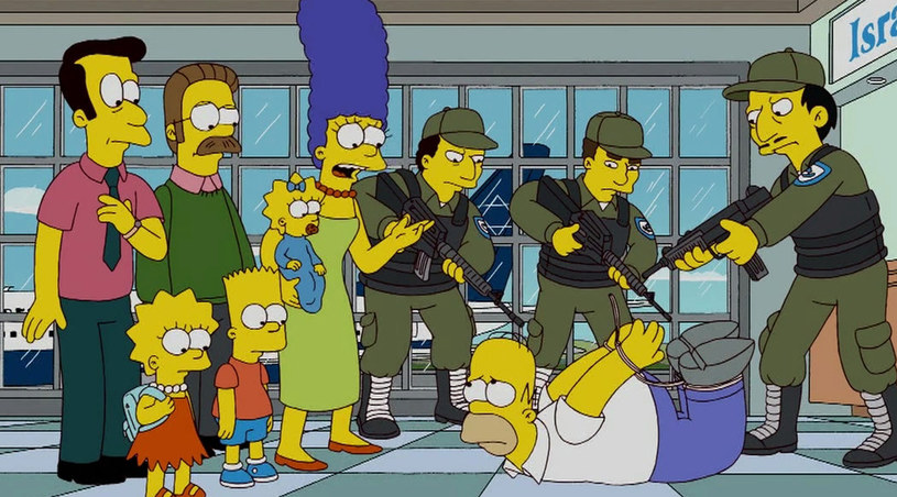 Homer jak zwykle popadł w kłopoty /Splashnews