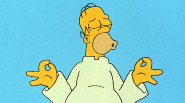 Homer medytuje? /FOX