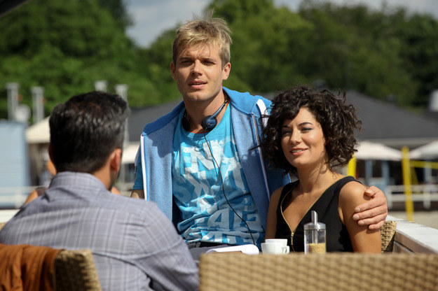Igor Grabowski (Tomasz Ciachorowski) i Ewa Kessler (Julia Pogrebińska) /Agencja W. Impact