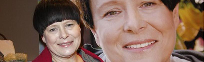 Ilona Łepkowska podczas promocji swojej książki /Engelbrecht /AKPA