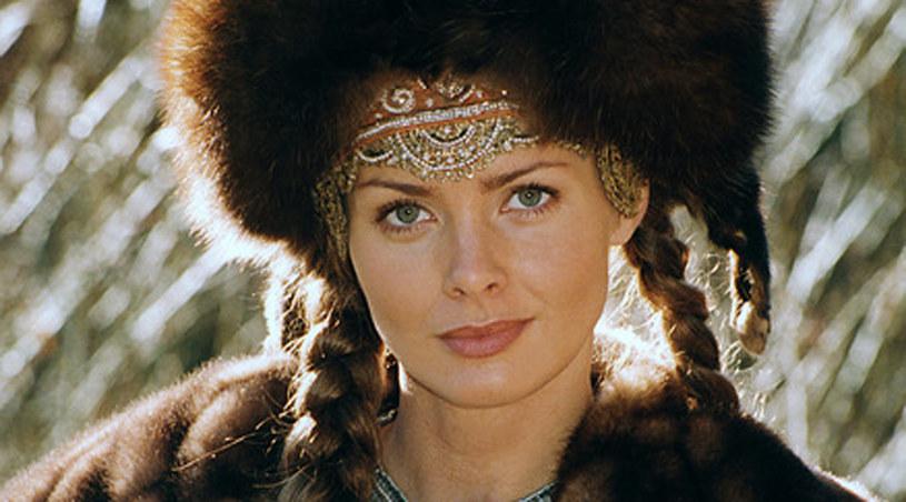 """Izabella Scorupco jako Helena w """"Ogniem i mieczem"""" /Żubrowicz /AKPA"""