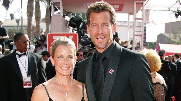 James Denton wraz z Erin O'Brien /AFP