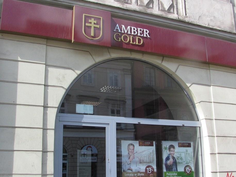 Jeden z krakowskich oddziałów Amber Gold /Jacek Skóra /RMF FM
