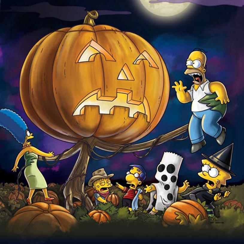 """Jeden z odcinków """"Treehouse of Horror"""" nawiązujący do słynnego odcinka """"Fistaszków"""" - """"It's the Great Pumpkin, Charlie Brown"""" /FOX /materiały prasowe"""