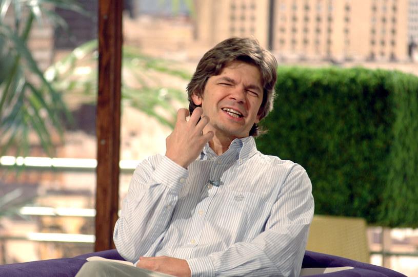 """Jednym z epizodów w karierze Filipa Łobodzińskiego było prowadzenie programu """"Pytanie na śniadanie"""" /MWMedia"""